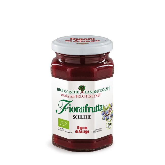Bio Schlehen Aufstrich mit ausschließlich fruchteigener Süße von Fiordifrutta 250g