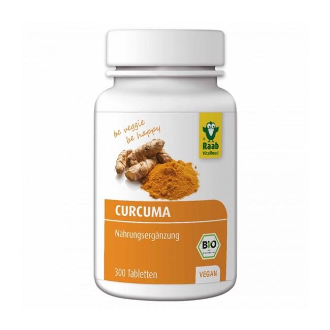 Raab Bio Curcuma Tabletten vegan & bio 300 Stck