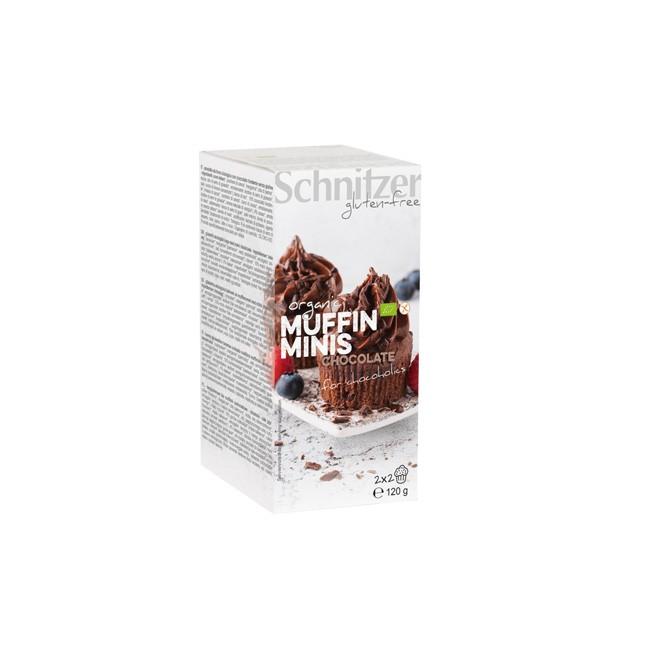 Schnitzer Bio und glutenfrei Muffin Minis Chocolate 120g