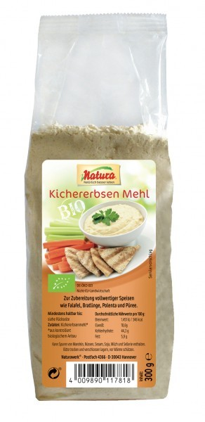 Natura : Bio Kichererbsenmehl (300g)