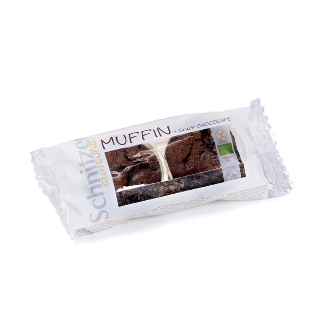 Schnitzer Dark Chocolate glutenfreie Muffins im Doppelpack