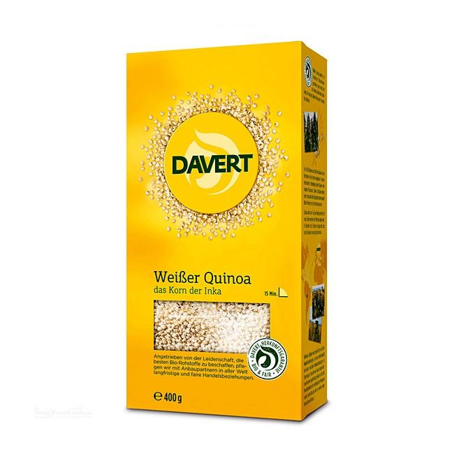 400g Weißer Quinoa von Davert in Bio-Qualität