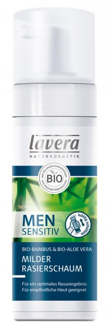 Lavera : Men sensitiv Rasierschaum (150ml)**
