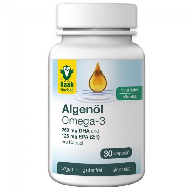 Raab : Algenöl Omega-3 Kapseln (30 Stück)