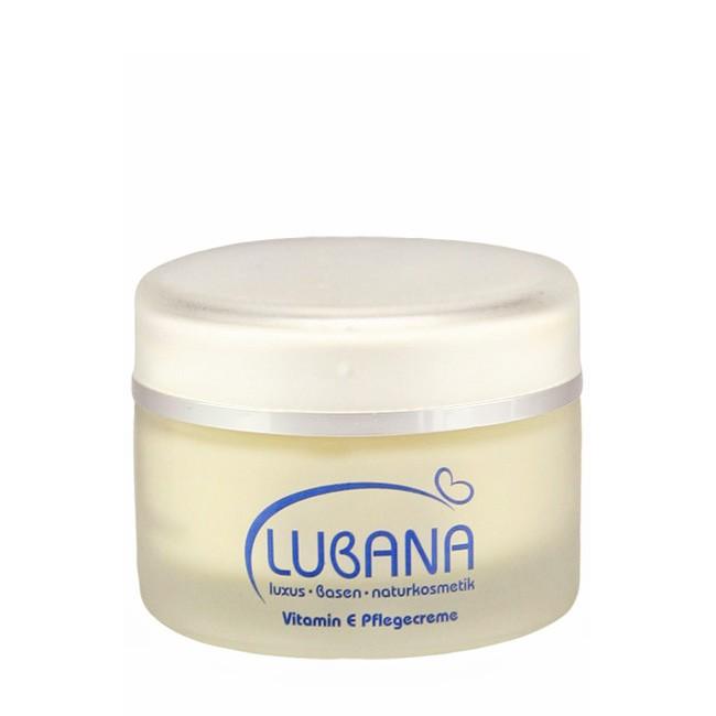 LUBANA Pflegecreme mit Vitamin E (50 ml), Bio