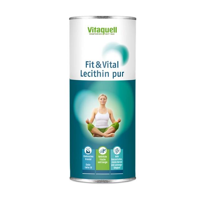 Soja Lecithin Granulat Pur von Vitaquell / Guadalquivir 250 Dose