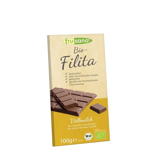 Frusano Filita Vollmilchschokolade, bio 100g