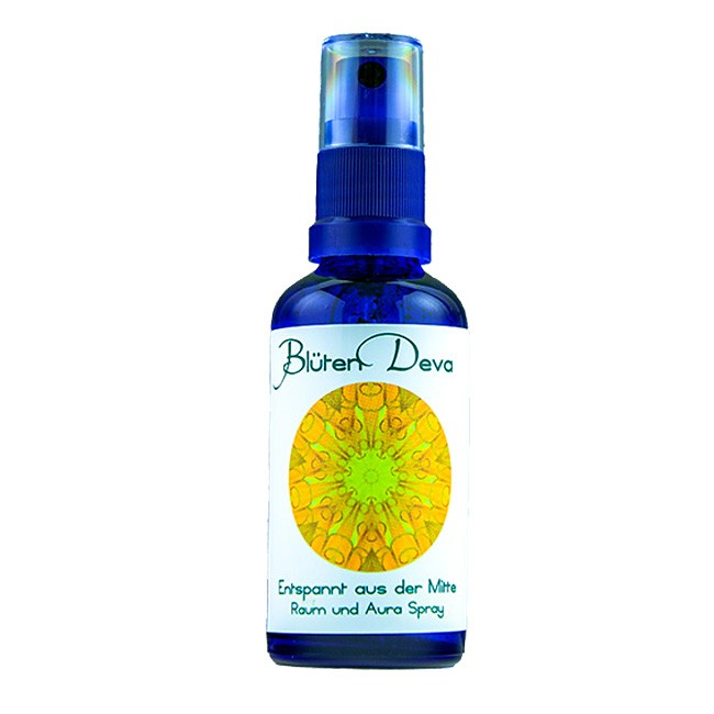 Blüten Deva : Entspannung aus der Mitte Auraspray (50ml) (Kosmetik)