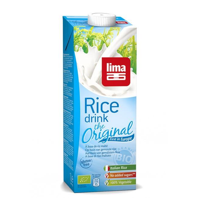 Bio Reisdrink von Lima - das Original! Pflanzliche Alternative zu Kuhmilch