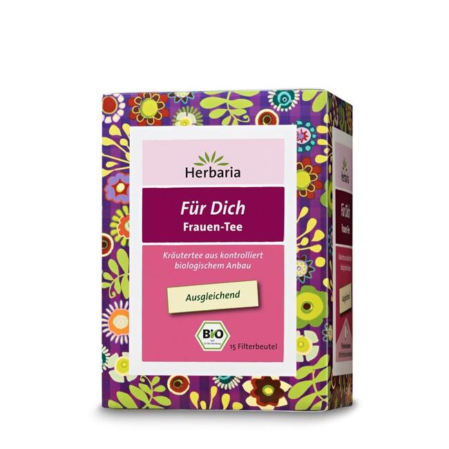 Herbaria  Für Dich Frauentee bio 15 Filterbeutel