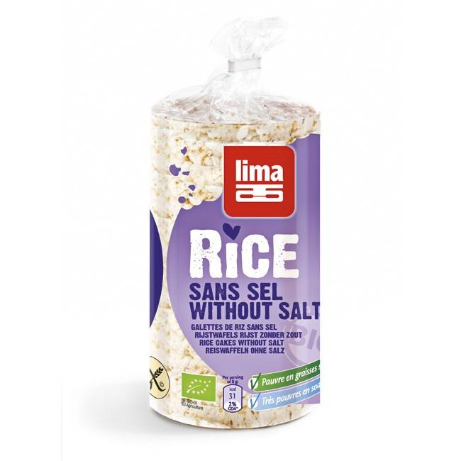 Bio Reiswaffeln ohne Salz von LIMA
