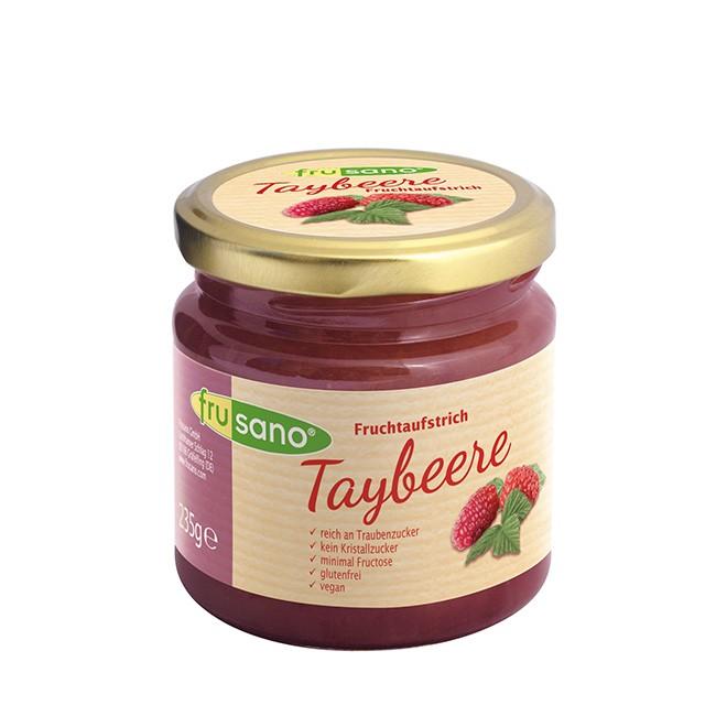 Fruchtaufstrich fructosearm mit Taybeere von FRUSANO 235g