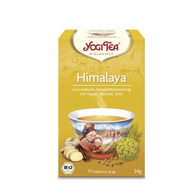 Himalya Tee von Yogi Tea mit Fenchel und Koriander bio 17 Beutel