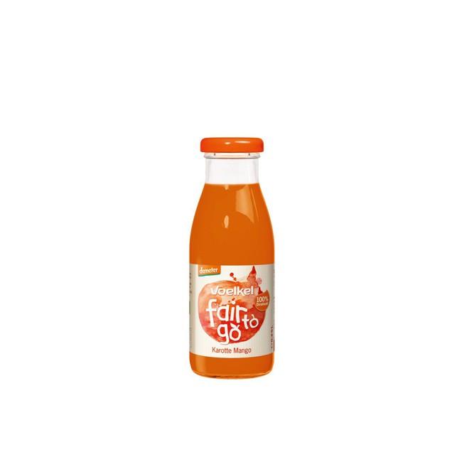 Voelkel Fair to go - Karotte Mango Saft, demeter (250ml)