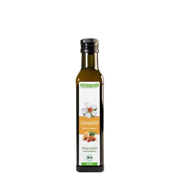Vitaquell aromatisches Mandelöl bio Qualität 250ml