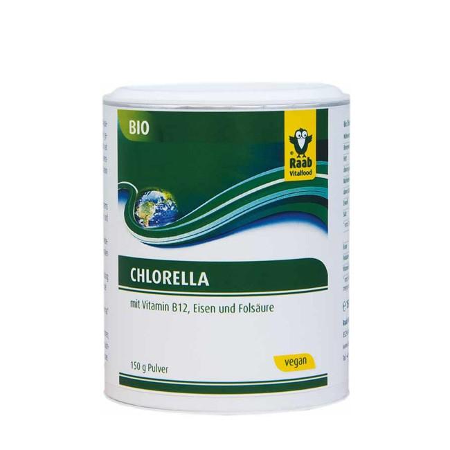 Bio Chlorella Pulver von Raab (150g)