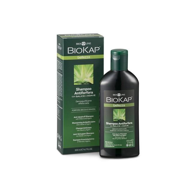BioKap® Anti-Schuppen Shampoo mit Weidenextrakt und Agave 200ml