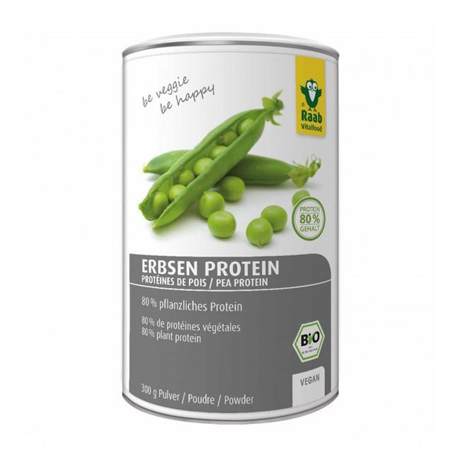 Bio Erbsen Protein Pulver von Raab (300g)