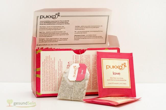 Pukka Love Tea - Ein Tee voller Liebe :-) Detailansicht.