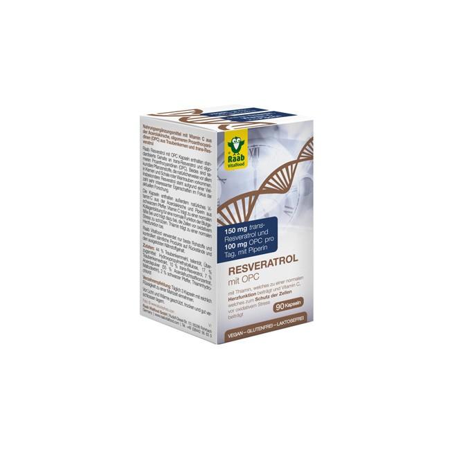 Raab Resveratrol mit OPC (90 Kapseln)