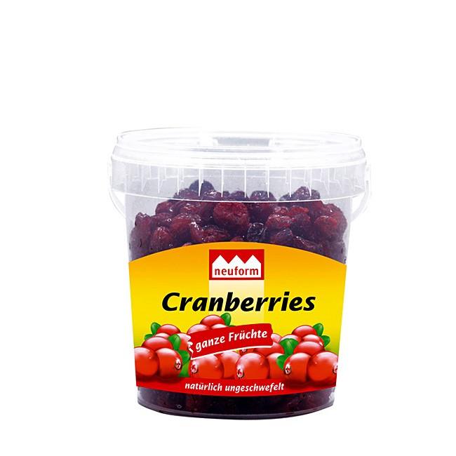 Cranberries - ganz Früchte - in der Snack Box von Lihn
