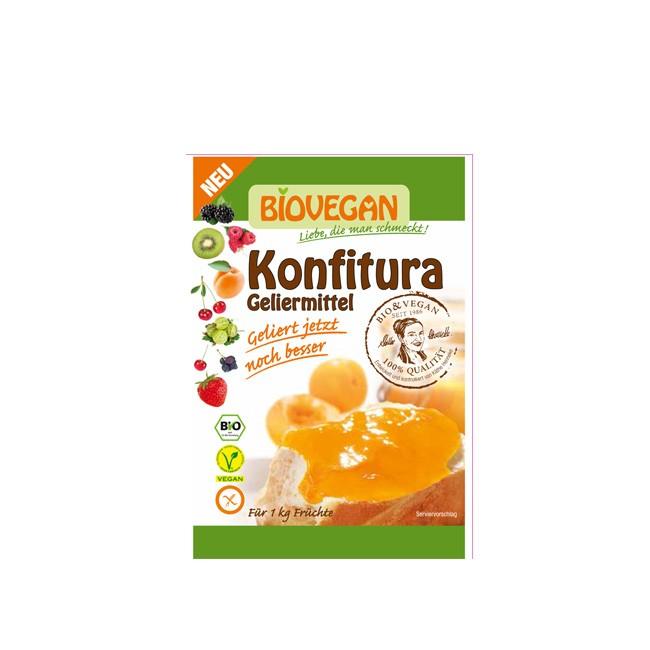 BioVegan Geliermittel Konfitura - 32g ausreichend für 1kg Obst