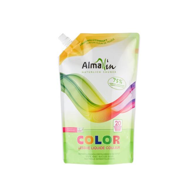 AlmaWin Flüssiges Bio Waschmittel für Farbiges - Color 1,5l