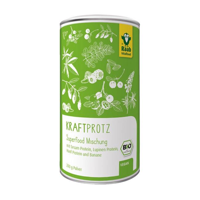 Raab Kraftprotz Superfood mit pflanzlichen Proteinen (200g)