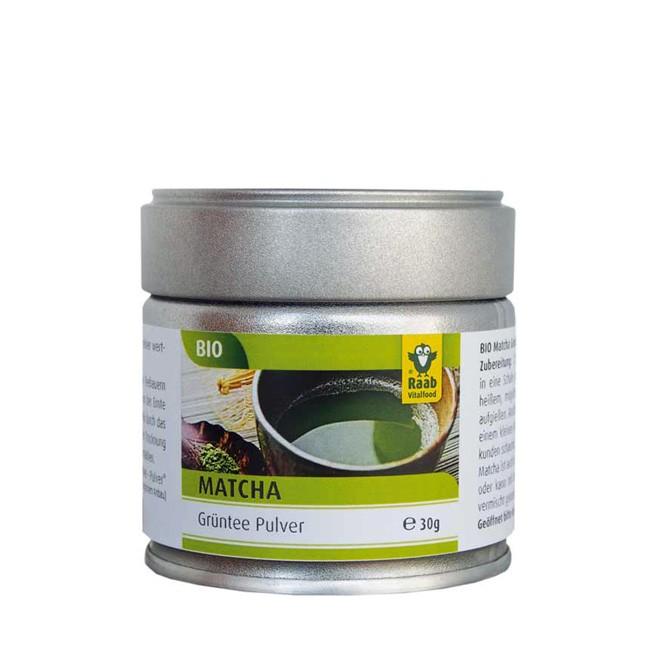handverlesenes Raab Bio Matcha Grün Tee Pulver