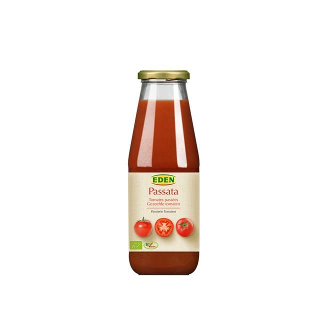 Passierte Tomaten in der Glasflasche (680g) von Eden