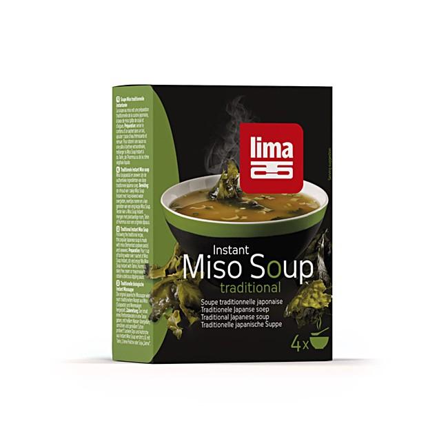 Miso Suppe Instant von LIMA - japanisch köstlich - 4 Portionen