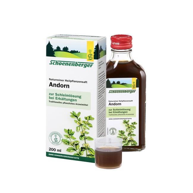 Bio Heilpflanzensaft Andorn Husten und Schnupfen lindernd bzw. Verdauungsunterstützend