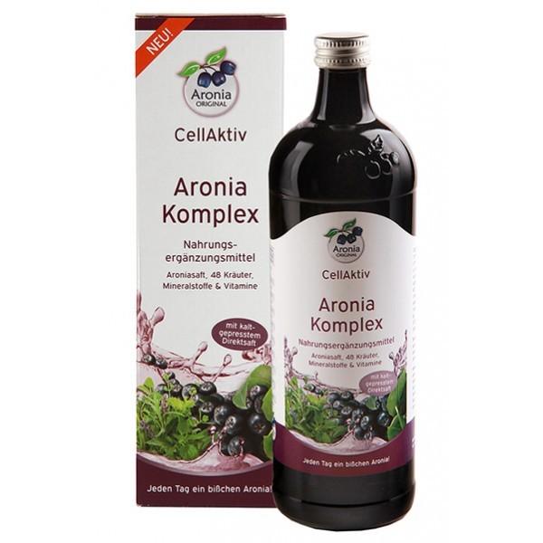 Aronia Komplex 0,7l Flasche