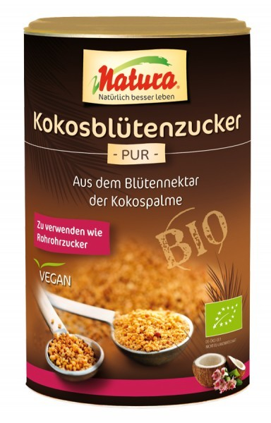 Natura : Kokosblütenzucker, bio (250g)