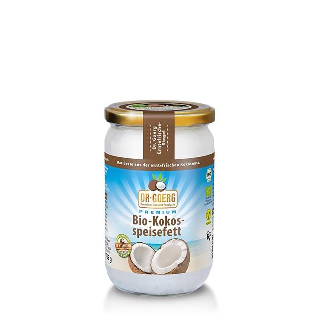 Bio Kokosspeisefett (200g) von Dr. Goerg in Premium Qualität