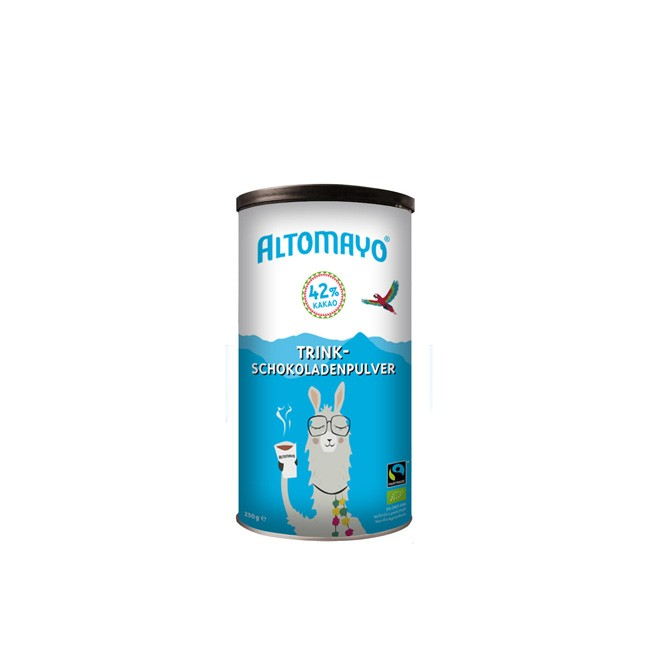Altomayo Trinkschokolade Pulver BIO, glutenfrei, vegan 250g