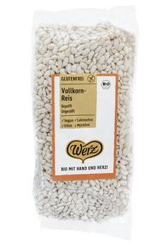Werz : Reis Vollkorn Pops ungesüßt, bio (125g)