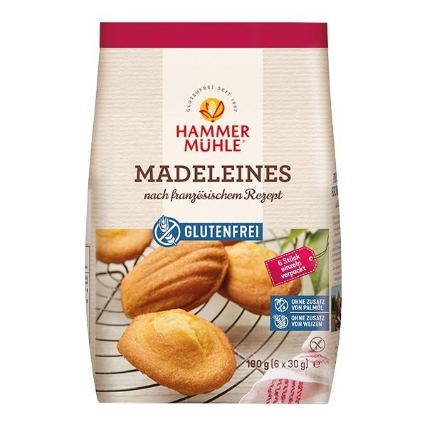 Hammermühle : Glutenfreie Madeleines (180g)