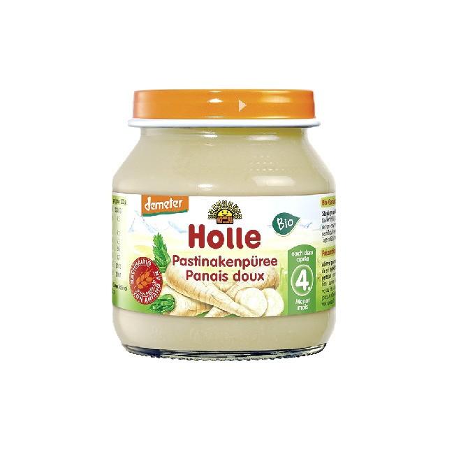 Holle Pastinake Babybrei ab 4. Monat Demeter Qualität (125g Glas)