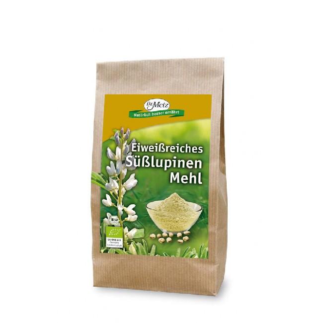 Süßlupinen Mehl aus deutschen Lupinen von Dr. Metz - bio