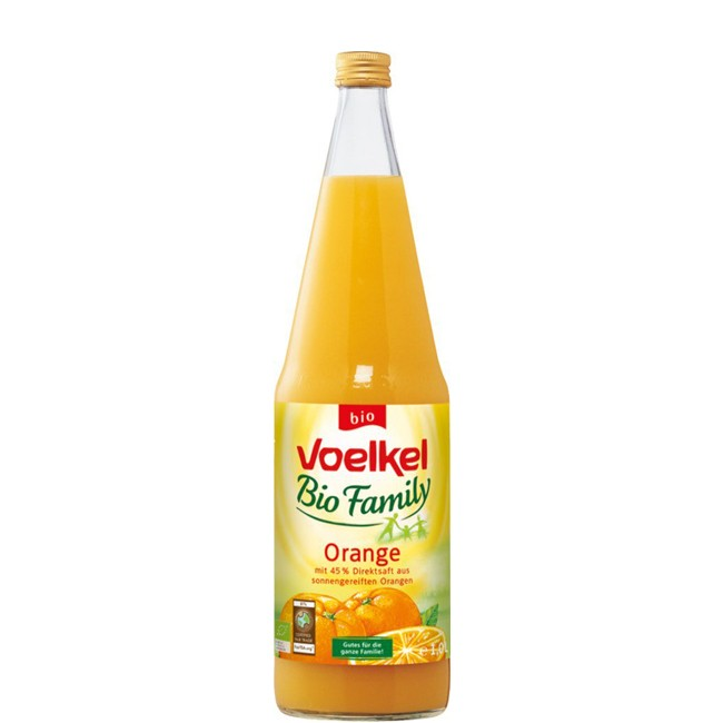 Voelkel Familiy Orange Fairtrade, bio 1l