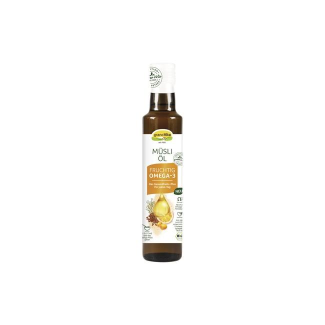 granoVita: Fruchtiges Müsli-Öl, bio (250ml)