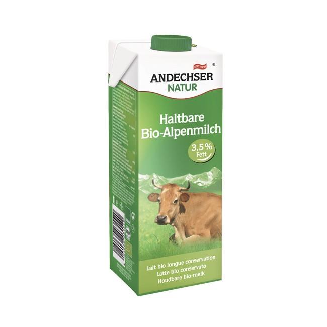 Andechser Natur: frische Kuhmilch 3,5% (bio)