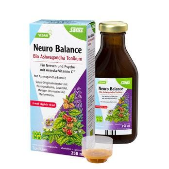 Salus : Neuro-Balance Bio Ashwagandha-Tonikum , bio (250ml)**