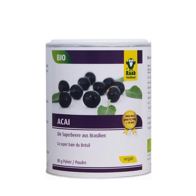 Raab-Bio-Acai-Pulver-Dose-80g