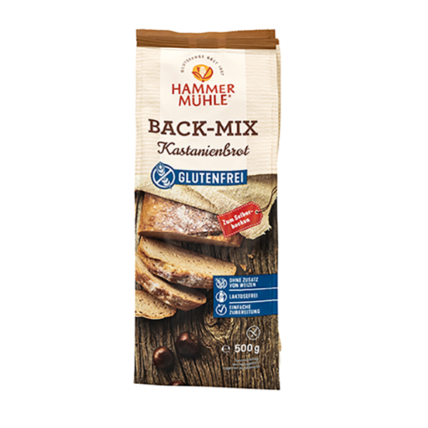 Hammermühle: Back-Mix Kastanienbrot 500g