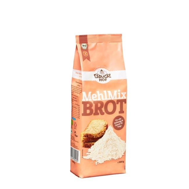 Bauckhof Brot Mehl-Mix, glutenfrei, bio 800g