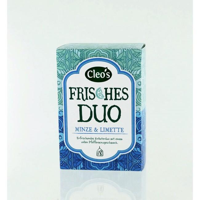 Cleos Frisches Duo Biologischer Tee (18 Beutel)
