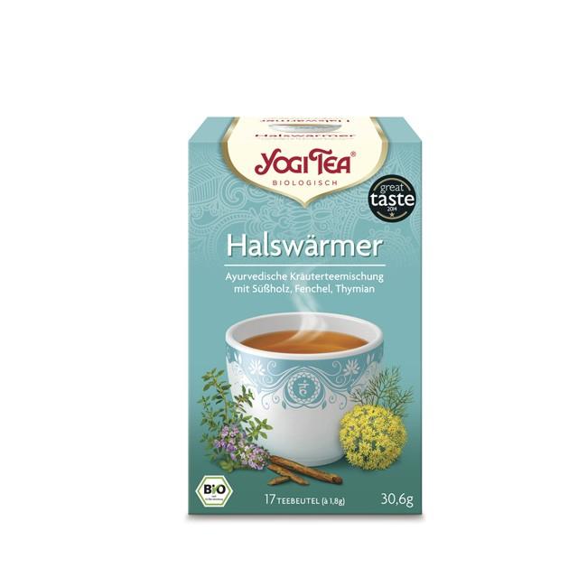 Yogi Tea Tee mit Kardamom Nelke und Fenchel als Halswärmer Tee