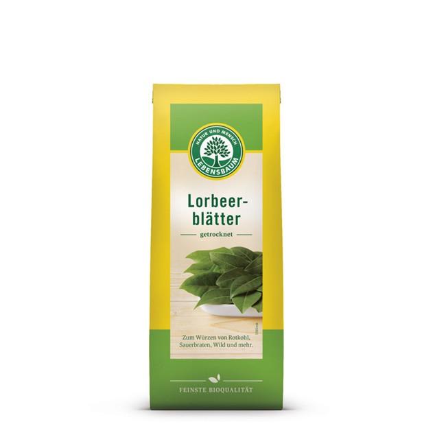 Bio Lorbeer (5g) für gesunde Gerichte - von Lebensbaum - ganze Lorbeerblätter